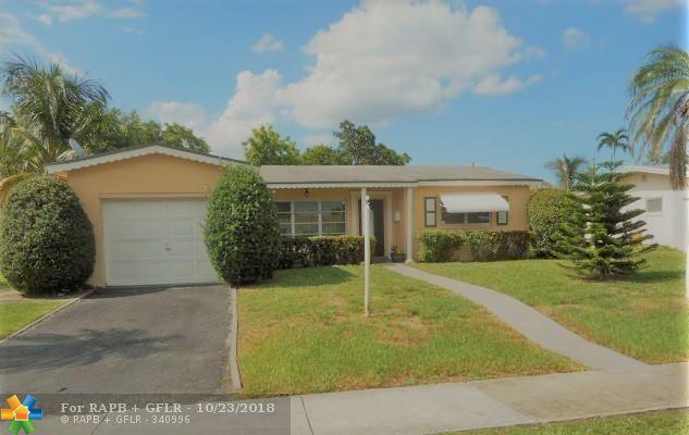 4765 NW 41st Pl, Lauderdale Lakes, FL 33319 (MLS #F10146651) :: Green Realty Properties