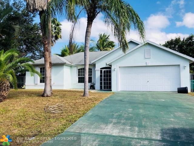 542 SW Cherryhill, Port Saint Lucie, FL 34953 (MLS #F10147313) :: Green Realty Properties