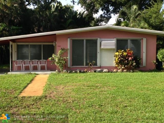 1508 SW 13th Ct, Fort Lauderdale, FL 33312 (MLS #F10148665) :: Green Realty Properties