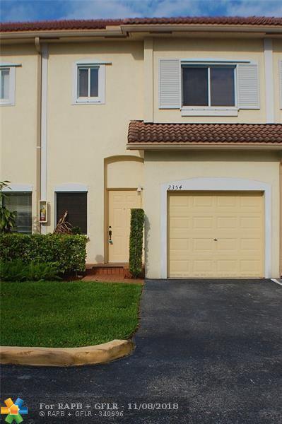 2354 Coral Springs Dr #8, Coral Springs, FL 33065 (MLS #F10149071) :: Green Realty Properties