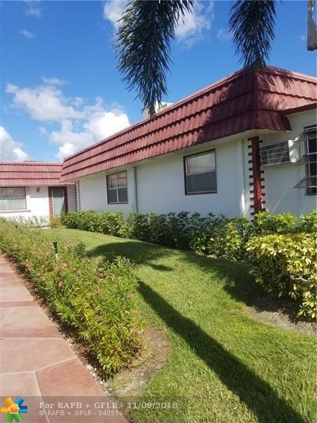 106 Waterford E #106, Delray Beach, FL 33446 (MLS #F10149323) :: Green Realty Properties