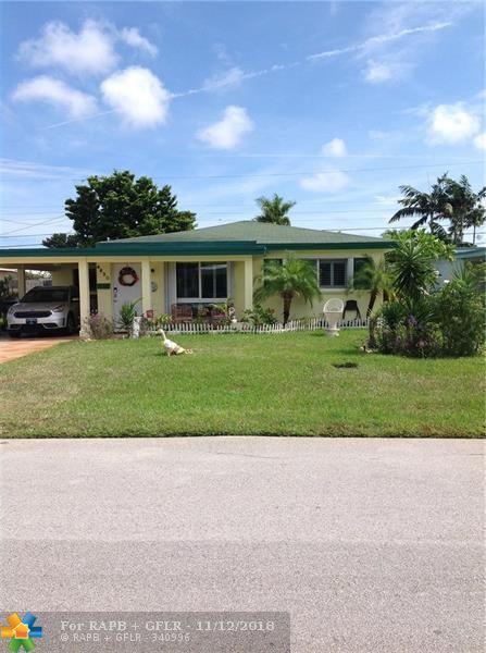 4630 NE 2nd Ave, Oakland Park, FL 33334 (MLS #F10149671) :: Green Realty Properties