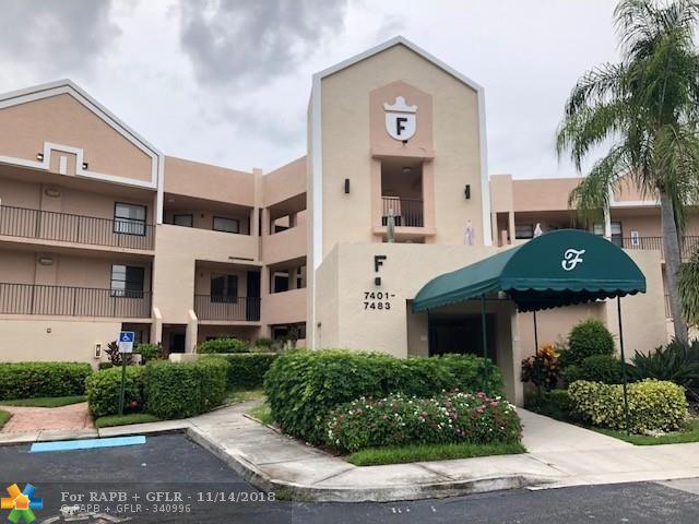 7447 Fairfax Dr #210, Tamarac, FL 33321 (MLS #F10150117) :: Green Realty Properties