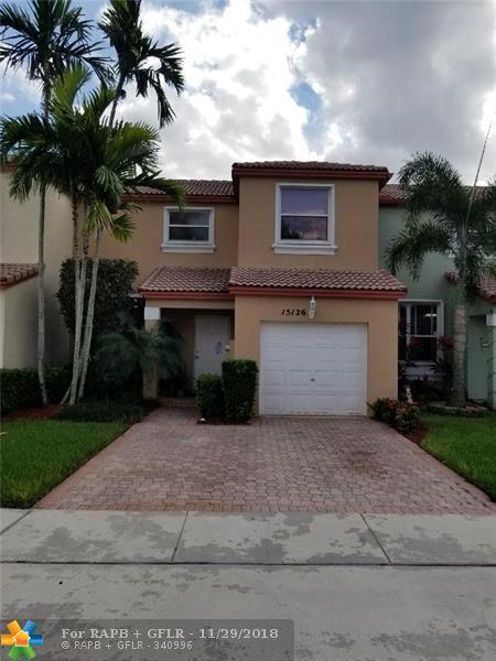 15126 NW 7th Ct #1, Pembroke Pines, FL 33028 (MLS #F10151405) :: Green Realty Properties