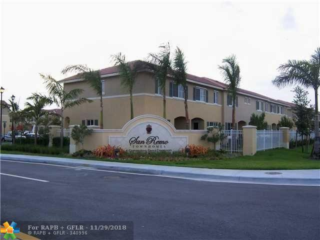 6060 SW 19th Ct #6060, North Lauderdale, FL 33068 (MLS #F10151933) :: Green Realty Properties
