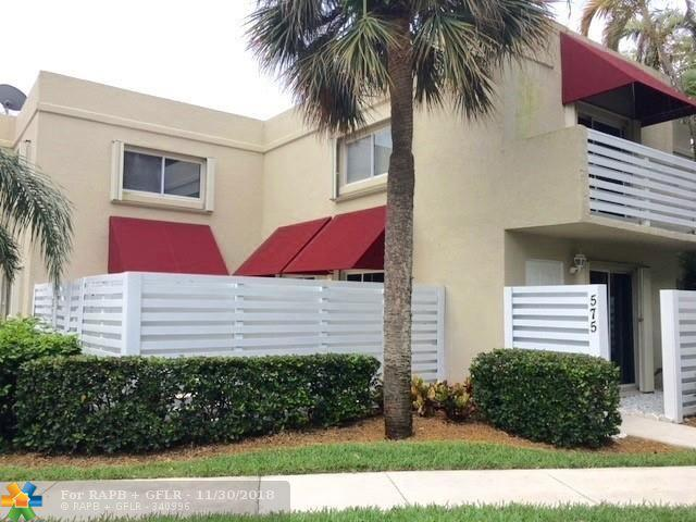 575 NW 98th Ave #575, Plantation, FL 33324 (MLS #F10152076) :: Green Realty Properties