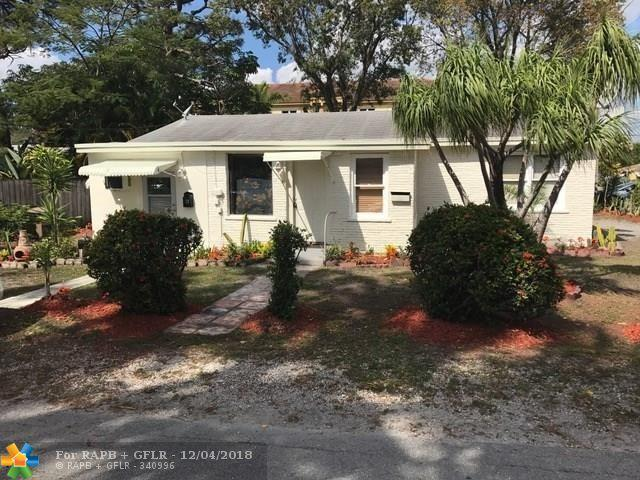 835 NE 21st Dr, Wilton Manors, FL 33305 (MLS #F10152491) :: Green Realty Properties