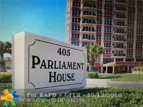 405 N Ocean Blvd #1529, Pompano Beach, FL 33062 (MLS #F10153734) :: Green Realty Properties
