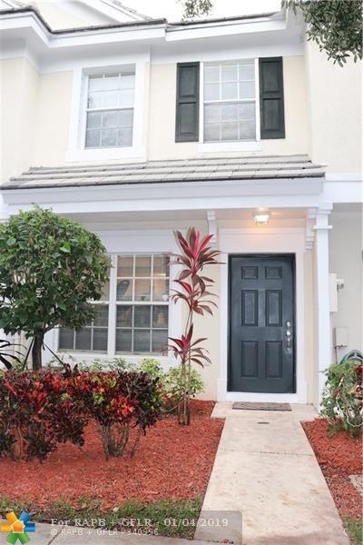 129 SW 96th Ave #129, Plantation, FL 33324 (MLS #F10156060) :: Green Realty Properties