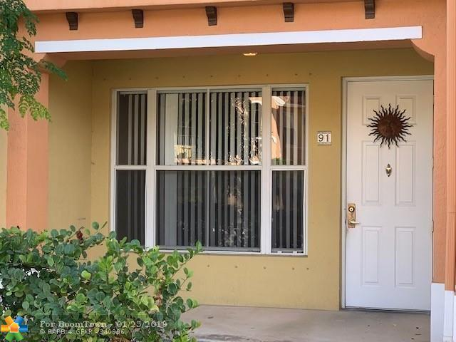 3565 Forest Hill Blvd #91, Palm Springs, FL 33406 (MLS #F10159682) :: The O'Flaherty Team