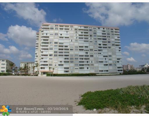 1012 N Ocean Blvd #1408, Pompano Beach, FL 33062 (MLS #F10162643) :: Castelli Real Estate Services