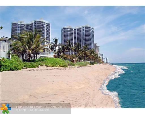 3200 N Ocean Blvd 1503/1504, Fort Lauderdale, FL 33308 (MLS #F10168549) :: Green Realty Properties