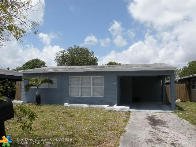 1741 NW 7th Ave, Fort Lauderdale, FL 33311 (MLS #F10174598) :: Green Realty Properties