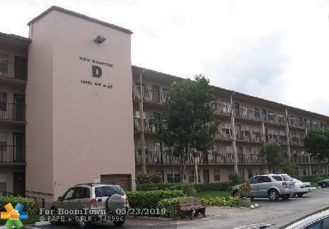13450 SW 3rd St #117, Pembroke Pines, FL 33027 (MLS #F10174844) :: Green Realty Properties