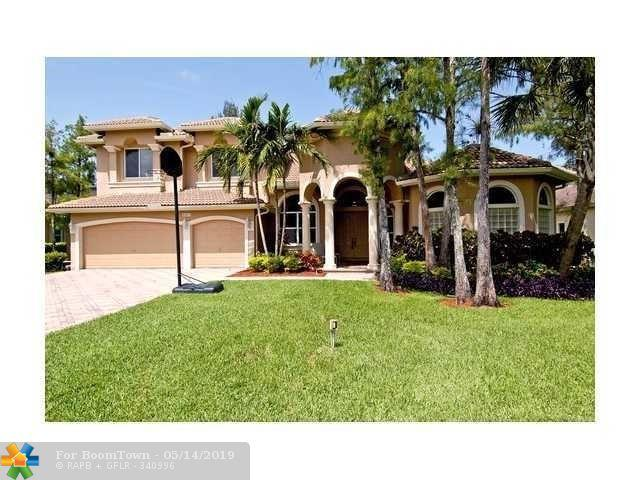 6033 NW 91st Ave, Parkland, FL 33067 (MLS #F10176086) :: The O'Flaherty Team