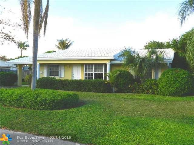 2811 NE 45th St, Lighthouse Point, FL 33064 (MLS #F10176224) :: GK Realty Group LLC