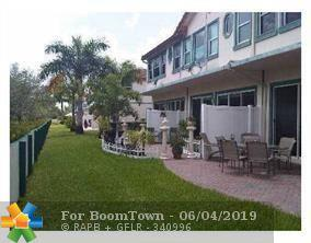 12302 Royal Palm Blvd #1, Coral Springs, FL 33065 (MLS #F10179160) :: Berkshire Hathaway HomeServices EWM Realty