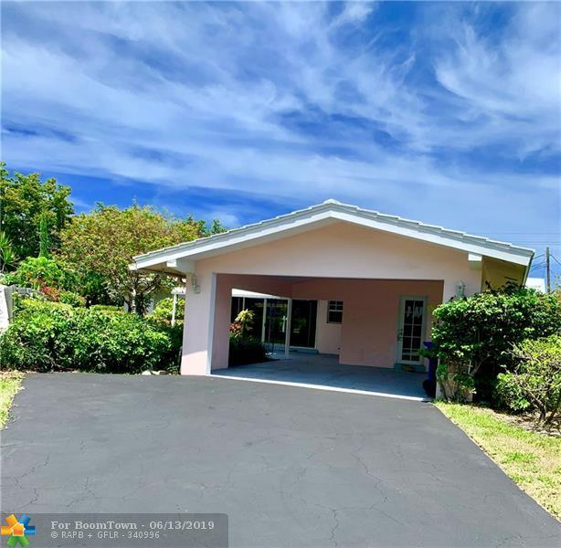 2417 Bayview Dr, Fort Lauderdale, FL 33305 (MLS #F10180622) :: The Edge Group at Keller Williams