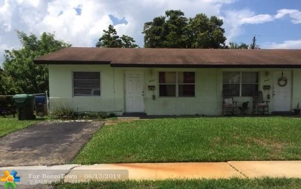 5401 NW 17th St, Lauderhill, FL 33313 (MLS #F10180638) :: Green Realty Properties