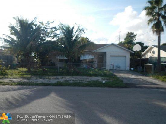 1721 NW 1st Ter, Pompano Beach, FL 33060 (MLS #F10181131) :: GK Realty Group LLC