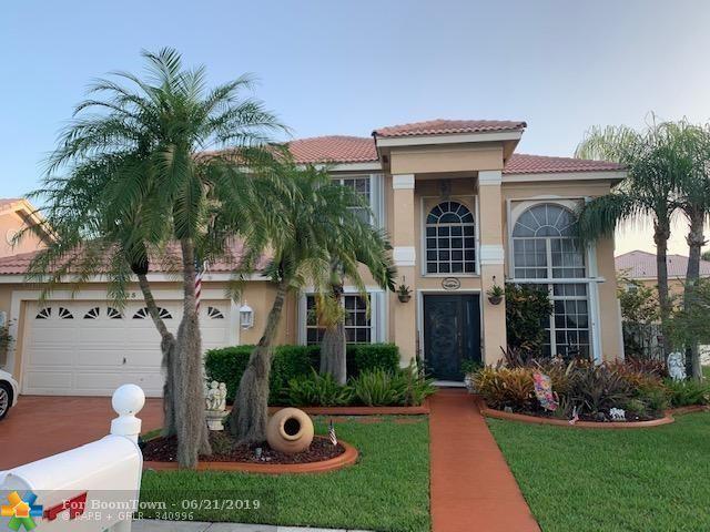 17425 NW 7th St, Pembroke Pines, FL 33029 (MLS #F10181822) :: Green Realty Properties
