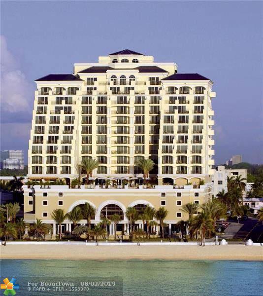 601 N Fort Lauderdale Beach Blvd #711, Fort Lauderdale, FL 33304 (MLS #F10187990) :: Patty Accorto Team