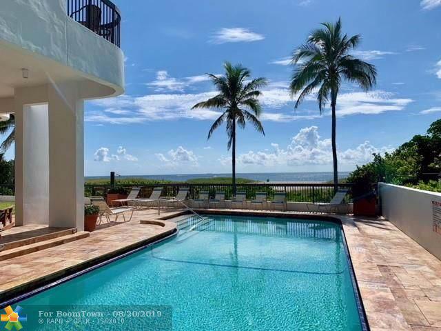 812 N Ocean #100, Pompano Beach, FL 33062 (MLS #F10190147) :: ONE Sotheby's International Realty