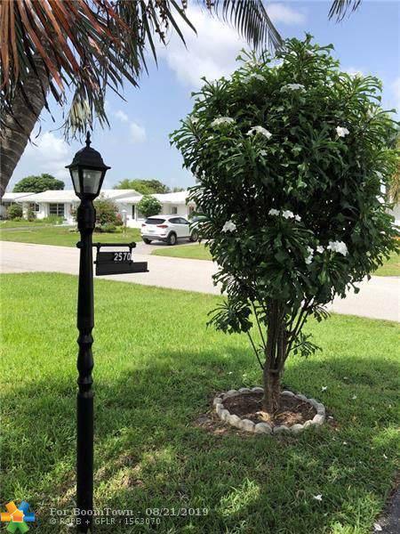 2570 E Golf Blvd, Pompano Beach, FL 33064 (MLS #F10190204) :: Laurie Finkelstein Reader Team
