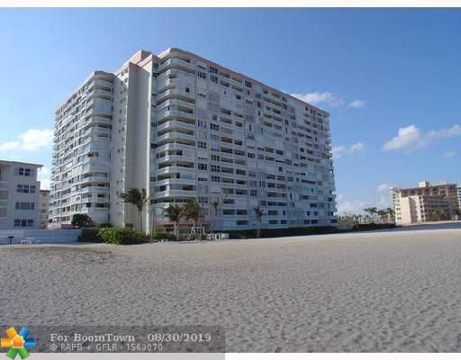 1012 N Ocean Blvd #804, Pompano Beach, FL 33062 (MLS #F10190872) :: Patty Accorto Team