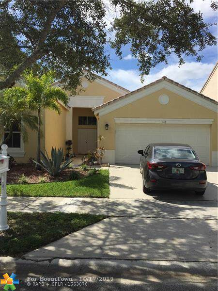 1149 Falls Blvd, Weston, FL 33327 (MLS #F10198854) :: The Howland Group