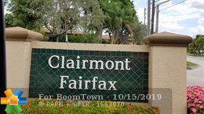 10814 W Clairmont Cir #104, Tamarac, FL 33321 (MLS #F10199082) :: Castelli Real Estate Services
