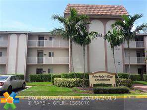 11651 Royal Palm Blvd #306, Coral Springs, FL 33065 (MLS #F10199398) :: Castelli Real Estate Services