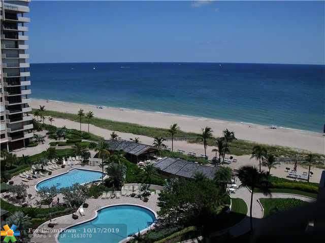 4900 N Ocean Blvd #1102, Lauderdale By The Sea, FL 33308 (MLS #F10199536) :: Laurie Finkelstein Reader Team