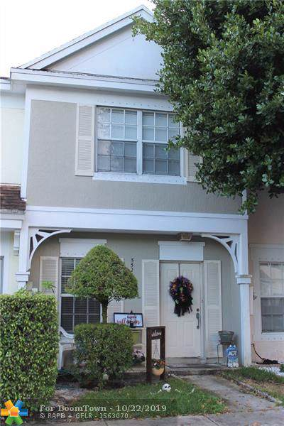 5522 Parade Pl #28, Margate, FL 33063 (MLS #F10199832) :: Berkshire Hathaway HomeServices EWM Realty