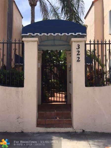 322 Monroe St 104A, Hollywood, FL 33019 (MLS #F10201696) :: Green Realty Properties