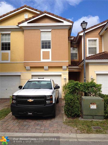 1004 W Pipers Cay Dr #1004, West Palm Beach, FL 33415 (MLS #F10202008) :: Berkshire Hathaway HomeServices EWM Realty
