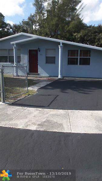 1081 NW 25th Ave, Fort Lauderdale, FL 33311 (MLS #F10202163) :: Castelli Real Estate Services