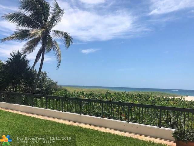 812 N Ocean Blvd #301, Pompano Beach, FL 33062 (MLS #F10204066) :: Castelli Real Estate Services