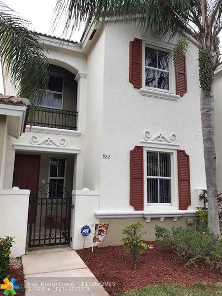 922 NE 42nd Ter #922, Homestead, FL 33033 (MLS #F10205051) :: RICK BANNON, P.A. with RE/MAX CONSULTANTS REALTY I