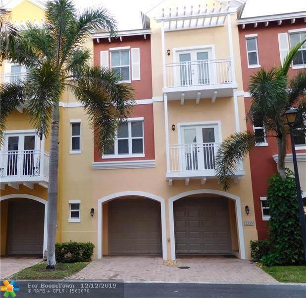 2335 Vintage Dr #2335, Lighthouse Point, FL 33064 (MLS #F10207256) :: Castelli Real Estate Services