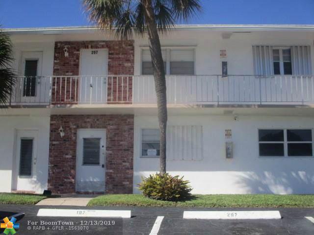 201 S Golf Blvd #197, Pompano Beach, FL 33064 (MLS #F10207420) :: RE/MAX
