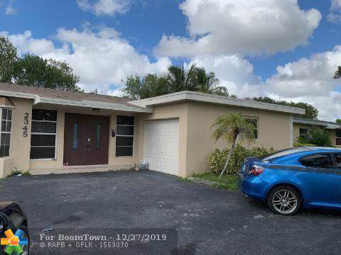 2345 NW 73rd Ave, Sunrise, FL 33313 (MLS #F10208846) :: Green Realty Properties