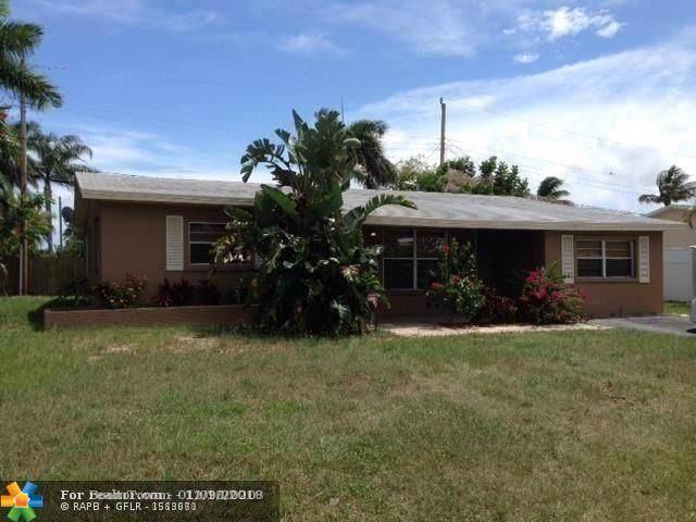1620 NE 35th St, Pompano Beach, FL 33064 (MLS #F10210808) :: Berkshire Hathaway HomeServices EWM Realty