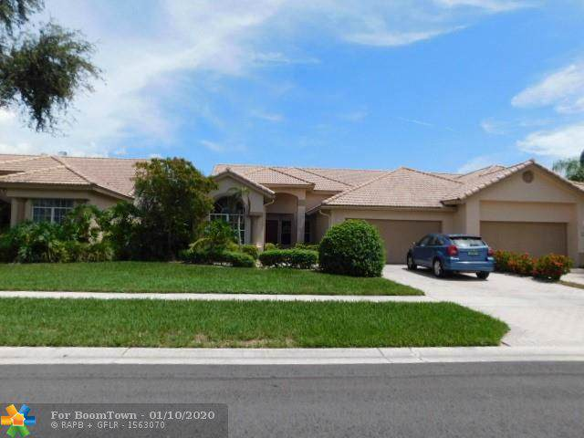8816 Shoal Creek Ln #8816, Boynton Beach, FL 33472 (MLS #F10210933) :: Berkshire Hathaway HomeServices EWM Realty