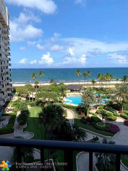 5100 N Ocean Blvd #713, Lauderdale By The Sea, FL 33308 (MLS #F10211401) :: The Howland Group