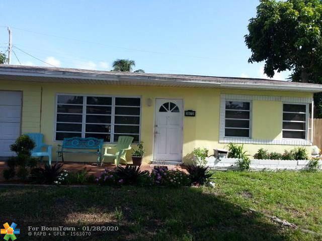 1673 NE 31st St, Pompano Beach, FL 33064 (MLS #F10214129) :: Green Realty Properties