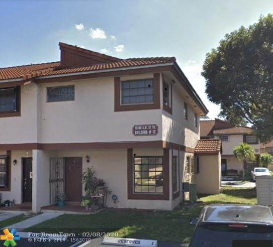 13240 SW 57th Ter 12-1, Miami, FL 33183 (MLS #F10216114) :: THE BANNON GROUP at RE/MAX CONSULTANTS REALTY I