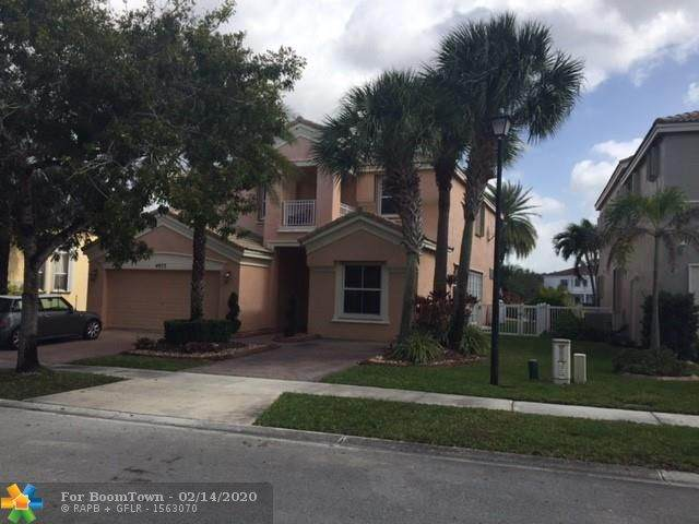 4973 SW 158th Way, Miramar, FL 33027 (MLS #F10217066) :: Green Realty Properties