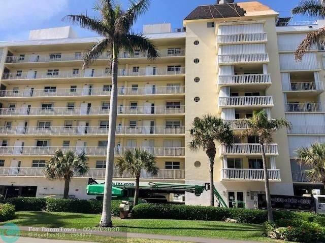 3114 S Ocean Blvd #806, Highland Beach, FL 33487 (MLS #F10217916) :: Berkshire Hathaway HomeServices EWM Realty