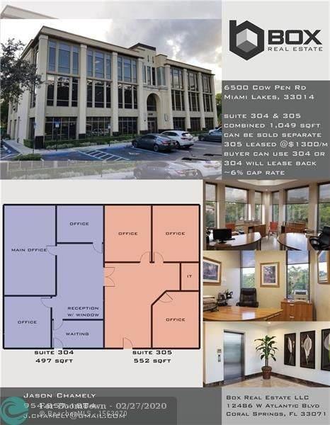 6500 Cow Pen Rd #305, Miami Lakes, FL 33014 (MLS #F10219045) :: Berkshire Hathaway HomeServices EWM Realty